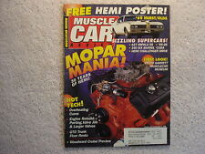 Muscle Car Review 1996 September 1969 Hurst Oldsmobile 1966 Impala SS 65 Buick