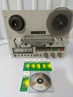 Teac X-7R MKII Reversing Reel To Reel Deck Comes w/ DVD Manual & Semiconductors