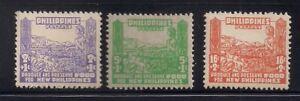 Philippines   1942   Sc # NB 1-3   MNH   XF   (4606)