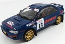 1/18 SUN-STAR - SUBARU - IMPREZA WRC 555 N 15 3rd RALLY TOUR DE CORSE 1996 05511