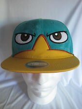 Disney Phineas & Ferb Snapback Cap Hat Where's Perry Platypus