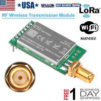 RF Wireless Transmission Module 868 MHZ LoRa 20dBm 100mW Measured Distance