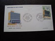 COTE D IVOIRE - enveloppe 1er jour 4/2/1967 (B12)