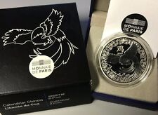 France 2017 Annee Du Coq 10 euro Silver Proof Calendrier Chinois Zodiac €