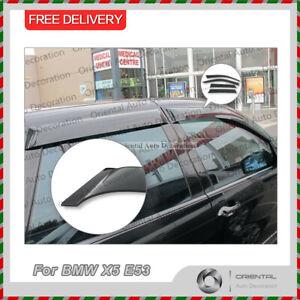 Premium Weathershields, Weather Shields, Window Visor for BMW X5 E53 2000-2006