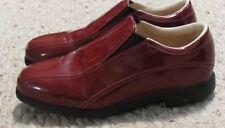 Women's NIKE GOLF Size 6 M VERDANA Air Comfort Red Patent Leather Golf Shoes EUC