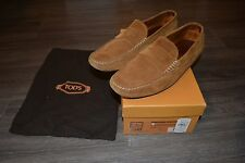 Tod's Size 10.5 EU 11.5 US Brown Gommino Loafers Driving Shoes Worn 10x or So