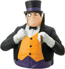 "BATMAN - The Penguin 8"" Money Bank Bust (Monogram) #NEW"