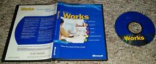 Microsoft Works 7.0 Software PC/Computer X08-82055