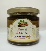 Pesto di Pistacchio Siciliano 190 gr con 60% Gluten Free