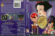 OOP Used 2 DVD - Walt Disney - SNOW WHITE AND THE SEVEN DWARFS  Platinum Edition