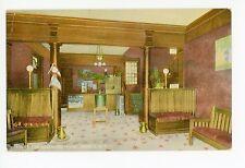 Lobby Interior—Sherwood Hotel—Greene NY Antique PC ca. 1914