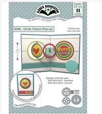 KB Riley- Karen Burniston Cutting Die Set ~ CIRCLE CHARM POP-UP ~ 3D Cards ~1046