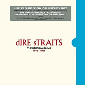 Dire Straits-The Studio Albums 1978 + 1991 (UK IMPORT) CD NEW