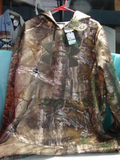 NEW UNDER ARMOUR FLEECE CAMO RealTree Xtra  HOODIE ~ Sz L ~ 1249745 948