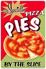 Vintage Retro Pizza Pies Italian Food Metal Sign Shop Diner Restaurant RPC232