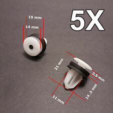 5X Door Card Interior Trim Panel Clips for Land Rover, Range Rover, Freelander