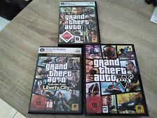 Grand Theft Auto IV, V und Liberty City für PC 3 Spiele