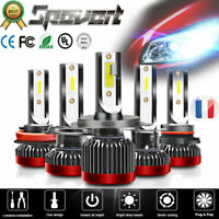 2x 110W H1 H7 H8 H11 LED Mini Headlight Kit Phare Blance Voiture 6000K Ampoules