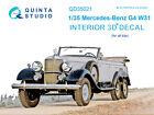 Quinta QD35021 Mercedes-Benz G4 W31 3D-Printed  coloured Interior for all kit