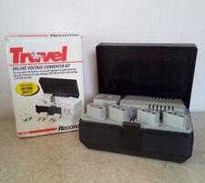 Recoton Adf1650 Travel Deluxe Voltage Converter Kit Switchable 50/1600 Watt