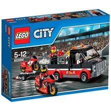 LEGO City Great Vehicles 60084: Racing Bike Transporter - Brand New