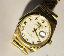 Invicta Men's 9333 II Collection Camelot 23k Gold Stainless Steel Watch