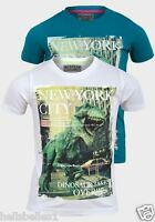 "BOY'S RESPECT SHORT SLEEVE GRAPHIC TEE ""NEW YORK"" 3 4 5 6 7 8 YRS"