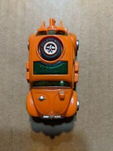 VINTAGE AURORA VW BEETLE ORANGE SLOT CAR