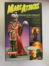 Mars Attack Contemplating Conquest Screamin' Model Kit 1995 Topps NIB Sealed