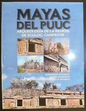 Mayas del Puuc: Arqueologia de Xculoc, Campeche Mexico Archaeology Maya