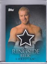 2009 TOPPS WWE CHRISTIAN SHIRT RELIC