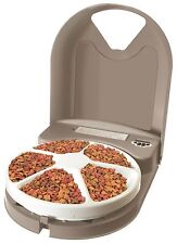 PetSafe Eatwell Pet Dog Cat Bowl 5 Meal Automatic Programmable Feeder