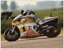 post card Suzuki XR45 Gamma #1 Franco Uncini  Dutch TT Assen 1983