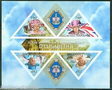 TOGO  2013 60th  ANNIVERSARY OF THE  CORONATION QUEEN ELIZABETH  II SHT  IMPF NH