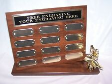 FANTASY HOCKEY STAND UP PERPETUAL PLAQUE TROPHY AWARD - FREE ENGRAVING!!!!