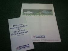 July 1987 HASLBECK ACCESSORIES Nissan PATROL & PICKUP 4x4 - GERMAN 12pg BROCHURE