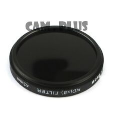 Pixco 43mm Neutral Density 8 ND8 Lens Filter For Samsung NX 45mm f/1.8 Olympus