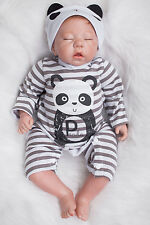 "20"" Lenght Handmade Real Looking Full Body Silicone Reborn Baby Newborn Boy Doll"