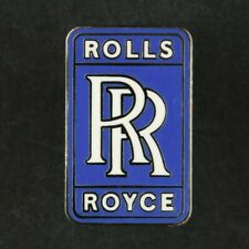 39x18mm BUTTERFLY PIN FIXING ROLLS-ROYCE SILVER GHOST ENAMEL LAPEL PIN BADGE