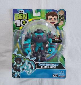 "Cartoon Network Ben 10 Playmates Omni-Enhanced Shock Rock 5"" Action Figure"