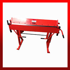 WNS Hand Sheet Metal Straight Folder Bender 1250mm x 1.2mm Capacity