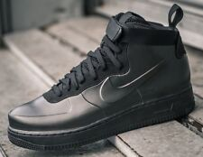 Nike Air Force 1 Foamposite Cup UK 8 EU42.5 Triple Black Unisex RRP£180.00