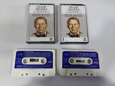 FRANK SINATRA 40 CANCIONES DE LA VIDA DE UN HOMBRE 2 X CINTA TAPE CASSETTE 1981