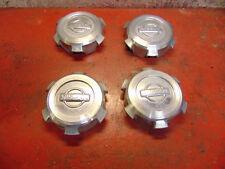 96 98 99 00 01 02 03 04 97 Nissan Pathfinder oem alloy wheel rim center cap set