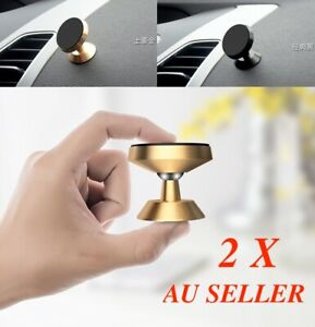 2X Phone holder Universal Magnetic Magnet Dashboard Mobile Dash Car Mount Stand