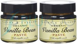 Taylor & Colledge Vanilla Bean Paste - 65g (Pack of 2)