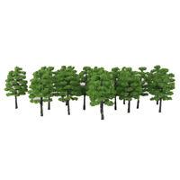 20pcs Landscape Scenery Trees Model Train Wargame Diorama Layout OO HO Scale