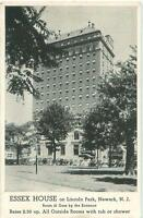 Newark New Jersey NJ Essex House on Lincoln Park 1940s Postcard 23876