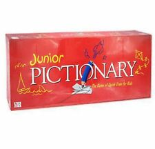 Junior Pictionary Quick Draw Board Game for Kids Red